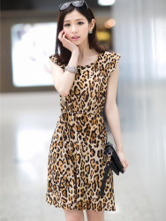 DRESS LEOPARD IMPORT TERBARU