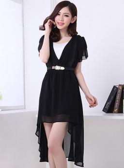 DRESS SIFON KOREA MODEL TERBARU