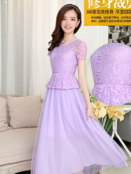 LONG DRESS PESTA CANTIK