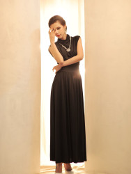 LONG DRESS PESTA KOREA 2014