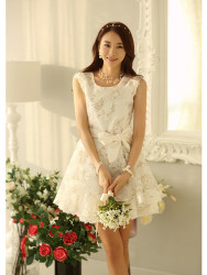 MINI DRESS KOREA BUNGA