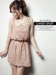 Baju Dress Lucu Sifon