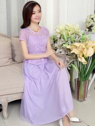 Baju Gaun Korea Panjang