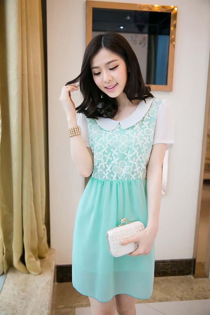 Dress Korea Terbaru Cantik