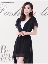 Dress Korean Sifon