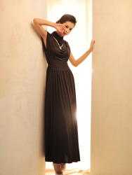 Long Dress Korea Pesta