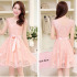 DRESS BROKAT PESTA CANTIK