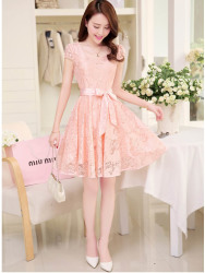 DRESS BROKAT PESTA CANTIK MODIS