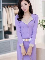 DRESS KOREA CANTIK MODEL TERBARU