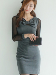 DRESS KOREA MODEL PITA CANTIK