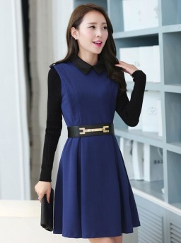 Dress Wanita Korea Modis Terbaru Jual Model Terbaru Murah