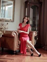 LONG DRESS KOREA TERBARU 2015