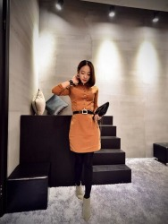 DRESS WANITA MODEL TERBARU KOREA TERBARU