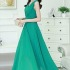 LONG DRESS WARNA HIJAU CANTIK 2015