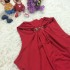 DRESS NATAL LENGAN BUNTUNG CANTIK IMPORT