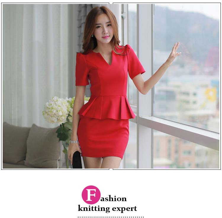 DRESS NATAL MERAH ELEGANT TERBARU 2015 FASHION