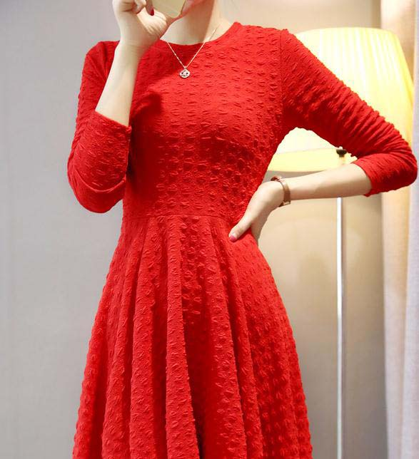 DRESS NATAL TERBARU IMPORT ONLINE MODIS