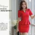 DRESS NATAL MERAH ELEGANT TERBARU 2015