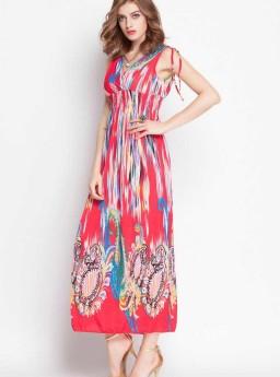 LONG DRESS BERMOTIF TERBARU 2016