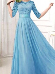 LONG DRESS IMPORT TERMODIS 2016 KOREA