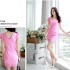MINI DRESS PINK CANTIK IMPORT 2016