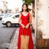 LONG DRESS ANGGUN MERAH CANTIK 2015