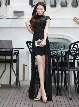 MINI DRESS RENDA BROKAT SEXY 2016