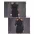 MINI DRESS COTTON HITAM ELEGANT 2016
