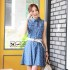 MINI DRESS LENGAN BUNTUNG MODIS 2016