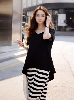 DRESS KOREA SIMPLE MODIS 2016
