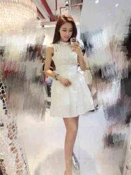 dress-lengan-buntung-renda-putih-2016-1