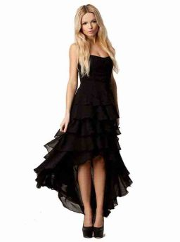 Gaun Pesta Hitam Cantik Import 2016 Jual Model Terbaru Murah