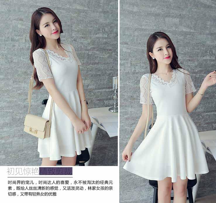 jual-dress-lengan-pendek-cantik-2016
