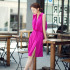 DRESS LENGAN BUNTUNG SIMPLE CANTIK