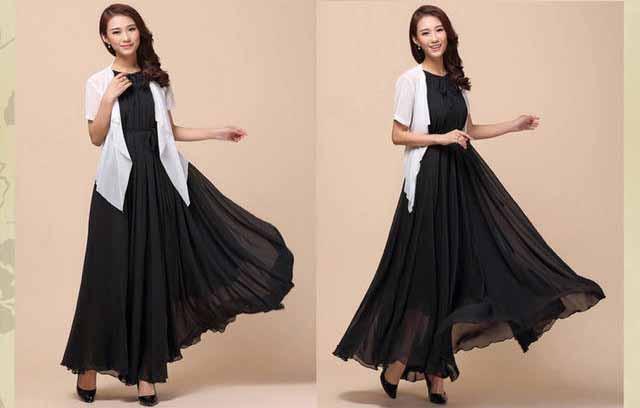 dress-pesta-korea-cantik-elegant-fashion
