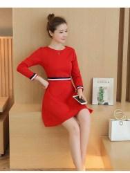 mini-dress-merah-natal-cantik-terbaru