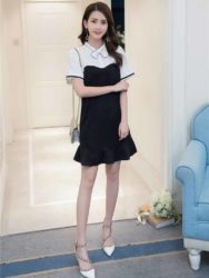 DRESS PESTA CANTIK MODEL SIMPLE IMPORT