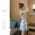 DRESS WANITA MODEL LENGAN BUNTUNG 2017