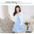 DRESS WANITA LENGAN BUNTUNG PLUS BLAZER