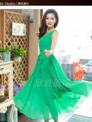 LONG DRESS WANITA BAHAN SIFON TERBARU