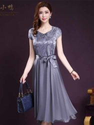 Toko Baju Wanita Dress Korea Cantik Long Dress Pesta Model